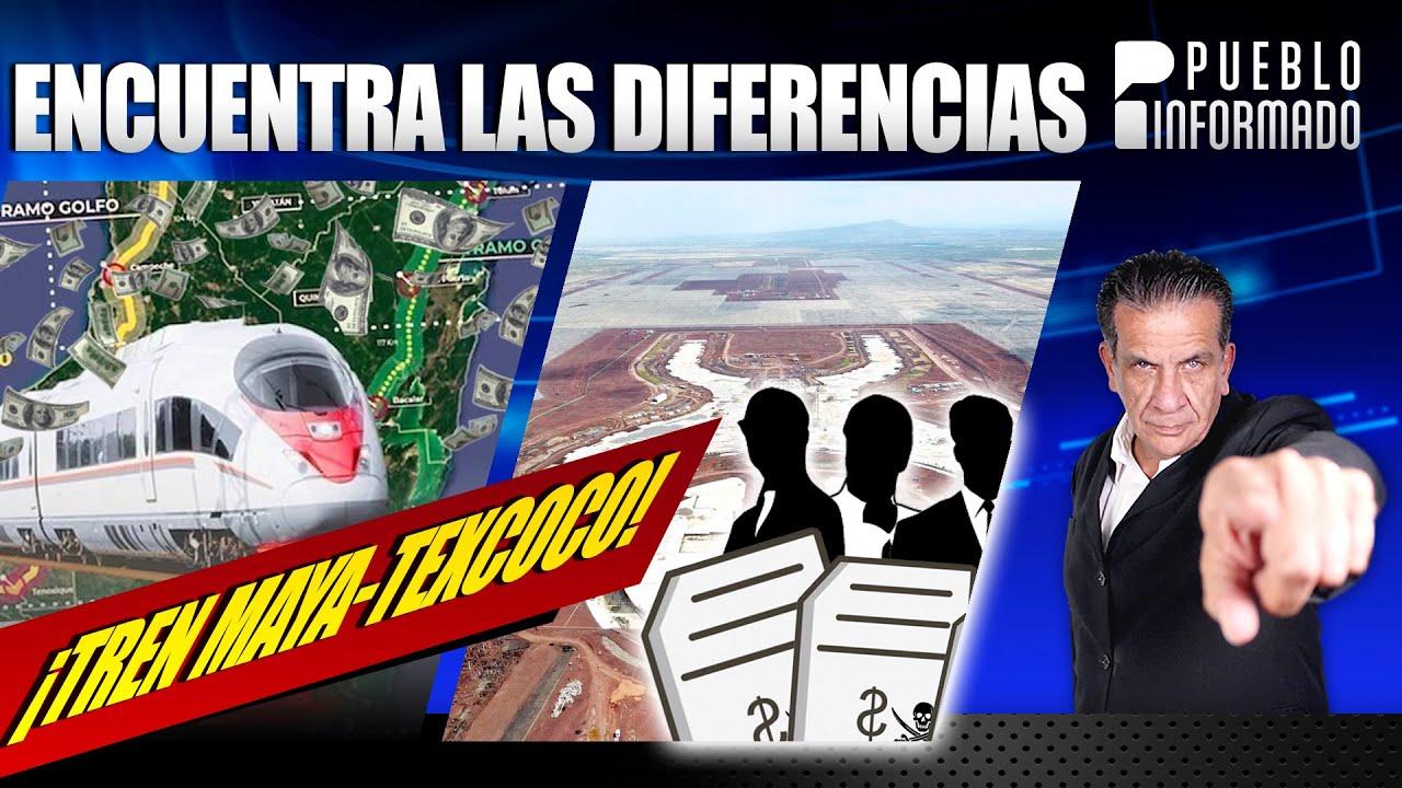 Tren Maya como aeropuerto de Texcoco