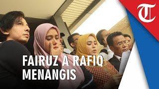 Fairuz Nangis Seusai Laporkan Mantan Suami Galih Ginanjar atas Ucapan Bau Ikan Asin