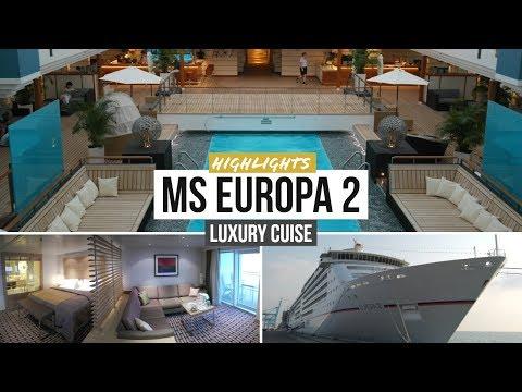 MS EUROPA 2 Kreuzfahrt LUXURY Dubai Cruise HAPAG LLOYD
