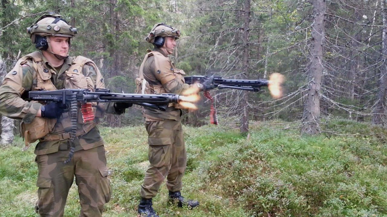 MG3 & HK416 Fullauto - YouTube