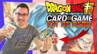 Dragon Ball Super Card Game: Découverte des Cartes Francaises ! (Kit de Demo FR)
