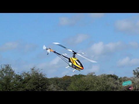 RC Helicopter Trex 700 Autorotation