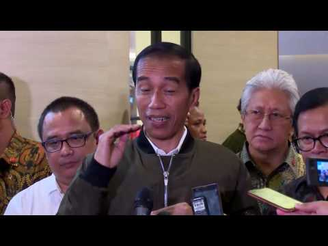 Presiden Jokowi ke Mall E Walk Balikpapan