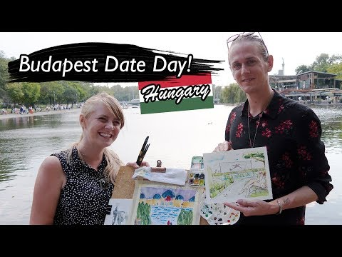 FIRST date in 10 YEARS!?!?😭 Budapest Hungary  😘