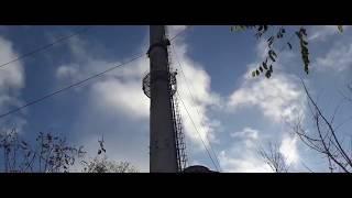 Wejście na 70 metrowy komin