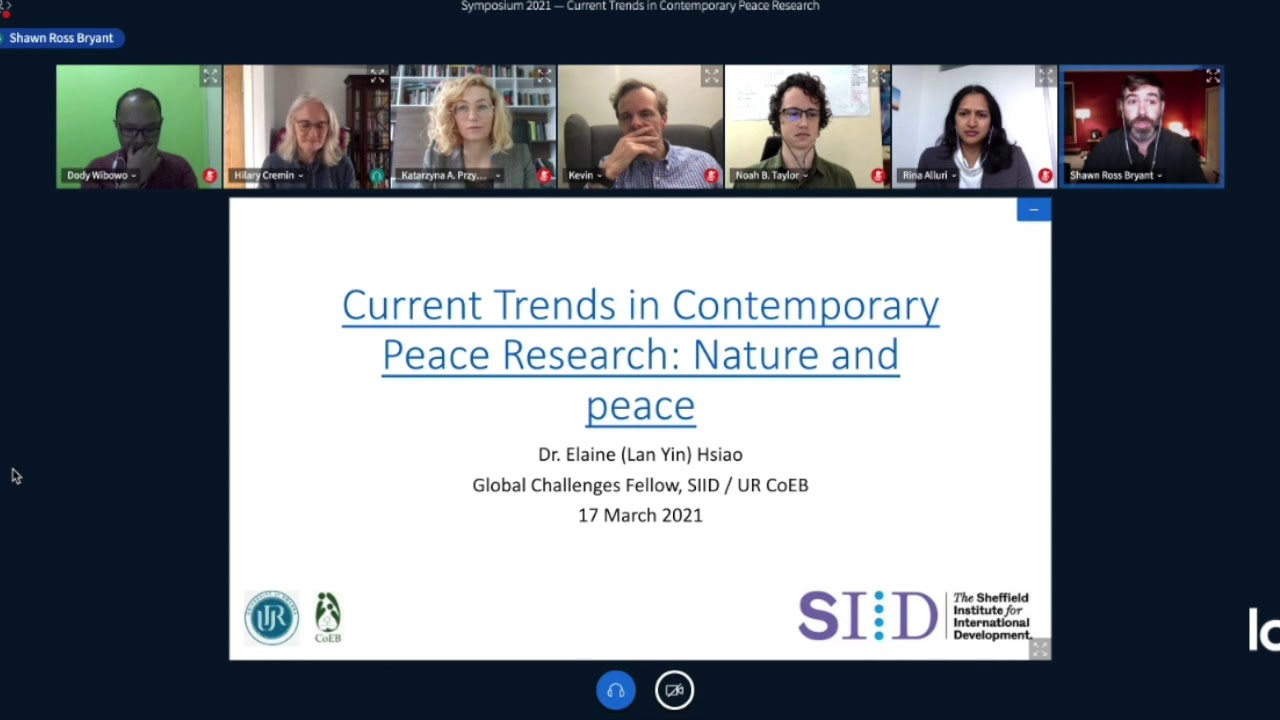 2021 Symposium on Current Trends in Contemporary Peace Research: Introduction