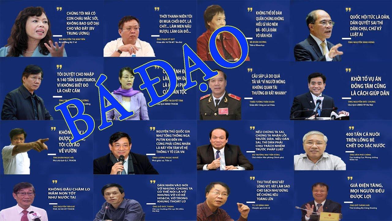 Image result for những phát ngôn gây sốc của lãnh đạo cộng sản việt nam