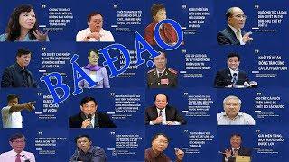 36 câu phát ngôn bá đạo nhất của lãnh đạo năm 2017
