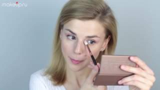 видео Как сделать макияж, чтобы глаза казались больше. Правила макияжа для глаз