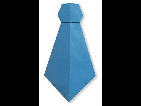 How To Make A Paper Neck Tie Hd Youtube