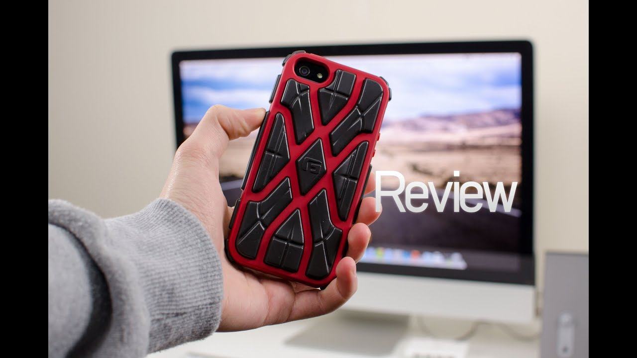 Review: G-Form XTREME Case for iPhone 5 + GIVEAWAY - YouTube