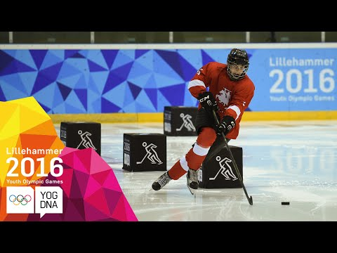 Ice Hockey - Men's Skills Challenge Final - Full Replay | Lillehammer 2016 Youth Olympic Games