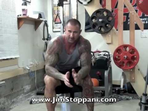 Reverse-Grip Incline Dumbbell Press by Jim Stoppani
