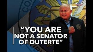 Payo ni President Duterte kay Senator Bato dela Rosa