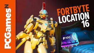 Fortnite Fortbyte guide - Number #16