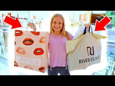 **BUYING WHATEVER CLOTHES YOU WANT** Teen Shopping Challenge