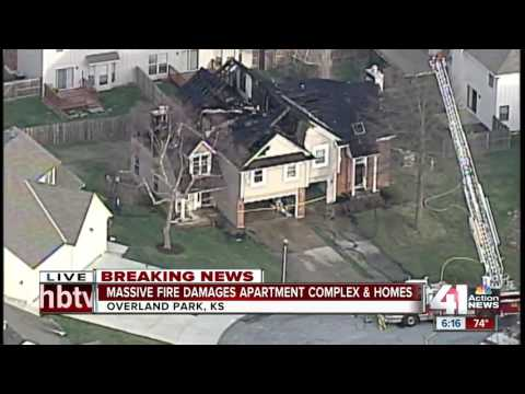 Overland Park Fire Dept. talks about apartment complex fire