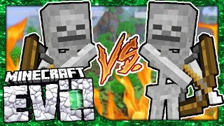 LEFTY VS RIGHTY! - Minecraft Evolution SMP #1