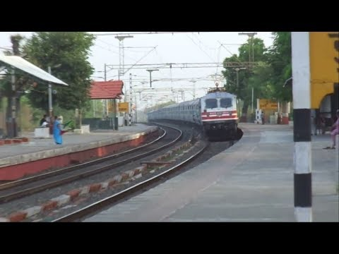 Compilation of Superfast Trains Of Indian Railways!!!!