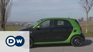 Testing the smart forfour electric drive | DW English