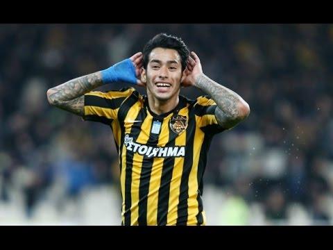 Sergio Araujo | AEK Athens | Goals & Skills |2016-17|(HD)