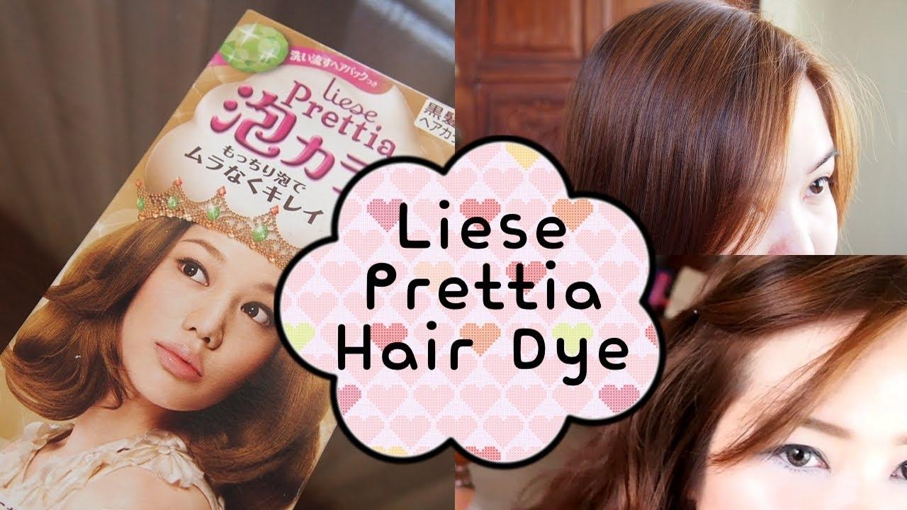 Liese Prettia Bubble Hair Dye In Milk Tea Brown Diy Hair Coloring