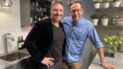 Schauspieler Hardy Krüger Jr. zu Gast bei Simon Beeck
