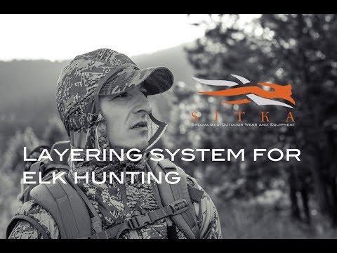 Sitka Gear Layering System For Elk