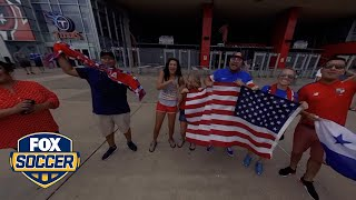 Fans gather before USA vs. Panama | 360 VIDEO | 2017 CONCACAF Gold Cup