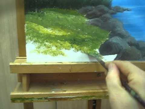 Acrylic Paint Grass How To Paint Grass With Acrylic