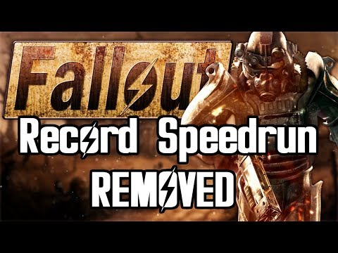 Fallout Speedrun Record REMOVED from Leaderboard thumbnail