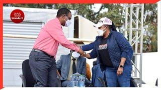 PS Karanja Kibicho and Wangui Ngirici lead Gichugui residents in second peace meeting