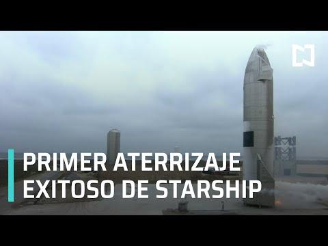 SpaceX logra aterrizaje