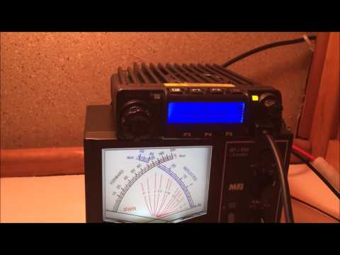 60 watt VHF mobile Luiton LT-580 ham radio review and power test