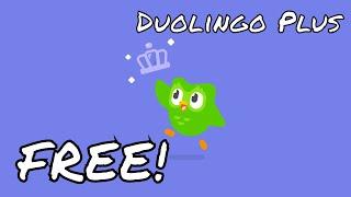 How to get free Duolingo Plus screenshot 3