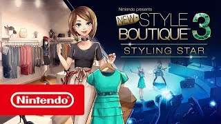 Nintendo presents: New Style Boutique 3 – Styling Star - Launch Trailer (Nintendo 3DS)