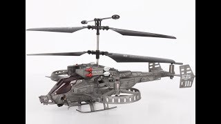 Rc helicopter in Bd. JH Gunship rc 4Channel heli(AVATAR) Unboxing and Maiden Flight.