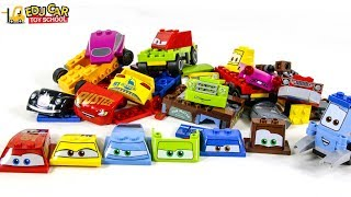 Learning Color Special Disney Pixar Cars Lightning McQueen Mack Truck Lego Play for kids car toys
