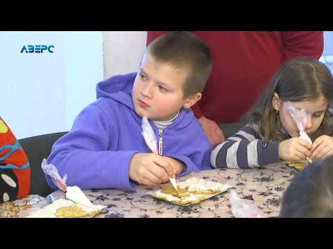ТРК Аверс: У санаторії, де проходять реабілітацію діти провели майстер-клас з оздоблення печива
