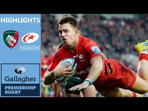 Tigers Claw Back In Thriller | Leicester Tigers v Saracens | Gallagher Premiership Highlights
