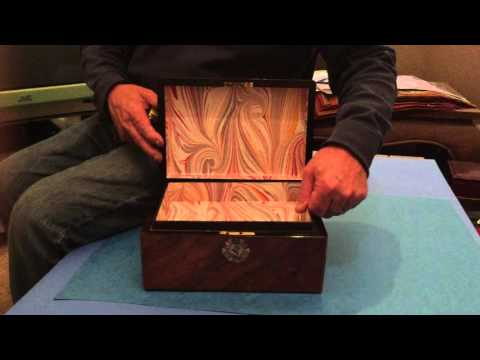 English ANtique Victorian Jewellery Box, c 1860