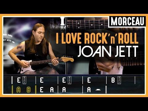 Cours De Guitare Apprendre I Love Rock N Roll De Joan Jett Youtube