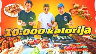 10.000 kalorija *SAMO MESO* 😱⎜TheSikrt & Bruno Lukić & 10ficho