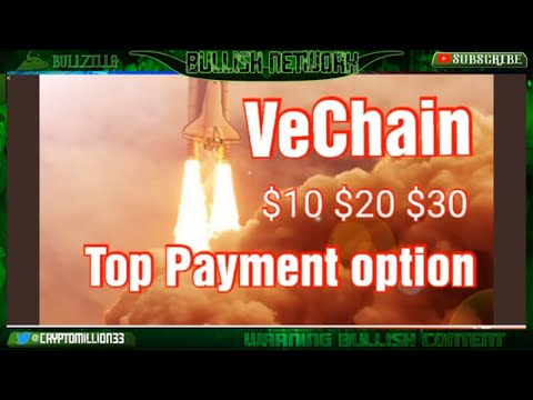 VeChain (VET)  Top Crypto Payment Options After only 2 weeks. $VET $10 $20 $30 SKY IS THE LIMIT