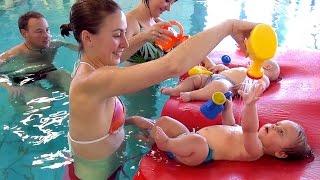 Babyschwimmen und Wassergewöhnung im Hallenbad Gelnhausen - Babyschwimmkurs