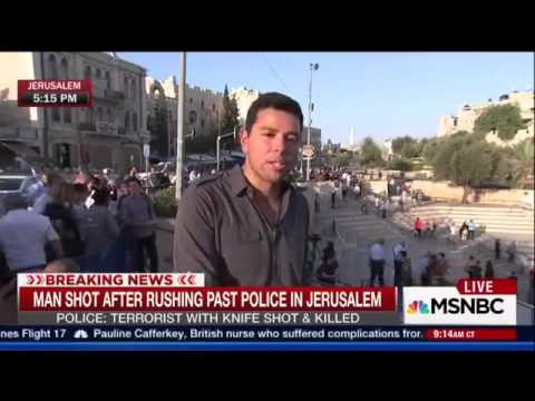 "TV reporter Caught Lying Red-handed About Israelis Shooting An ""Unarmed Palestinian"""
