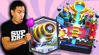 USING BEST SPARKY DECK in CLASH ROYALE in Legendary Arena
