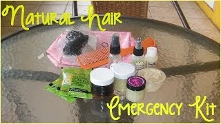 • 81 • Natural Hair Emergency Kit/Happy Father