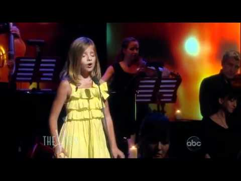 Jackie Evancho - All I Ask Of You without intro