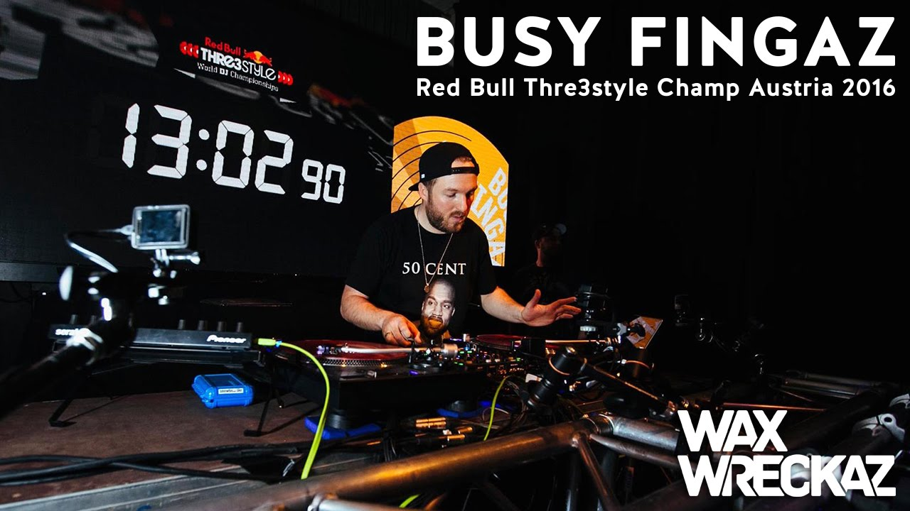 Busy Fingaz - Red Bull Thre3style Austria 2016 Champion